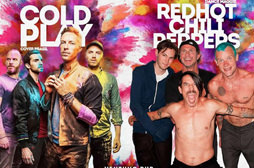 Tributos a Coldplay e Red Hot Chilli Peppers